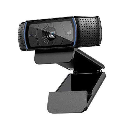 Logitech C920 HD PRO Webcam, Full-HD 1080p, 78° Sichtfeld, Autofokus, Klarer St...