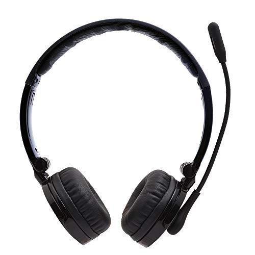Bluetooth Headset,YAMAY Wireless Headset Over the Head mit Mikrofon,Noise Cancel...