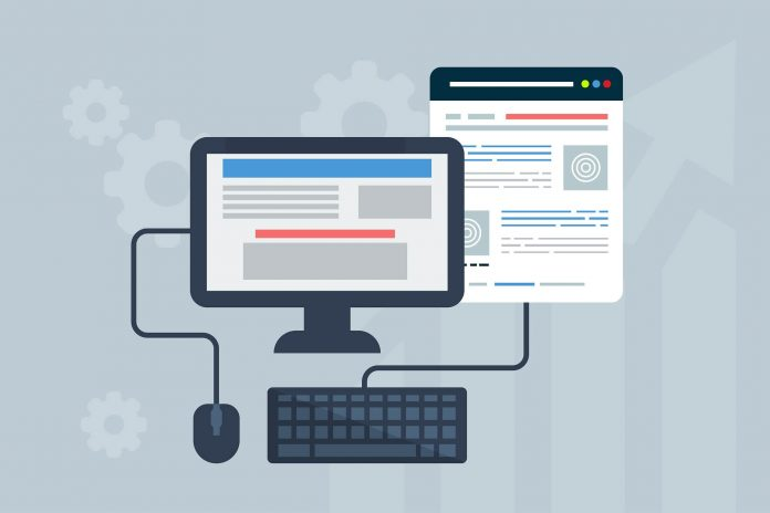 Homepage-Baukasten Startup -Gründer Jungunternehmer Website-Builder - Homepage erstellen